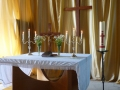 Ropažu ev. luter. baznīcas altāris