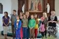 Nometnes dalībnieki, kas atgriezušies no Zviedrijas